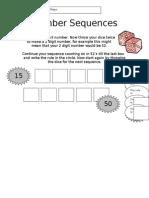dicenumbersequences.doc