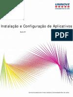 Instalação e configuração de aplicativos