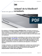 ¿Te falla el 'trackpad' de tu MacBook