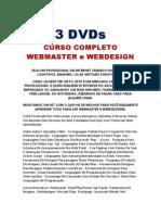 Vídeo Aulas WEBMASTER e WEBDESIGN
