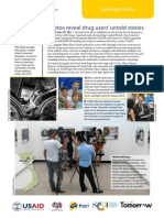 """""""Face to Face with Drugs"""" exhibition brief June 2011"""