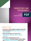 Workstudy and Ergonomics