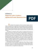 Capitulo _Apendice a Impuestos Sobre Tabaco; Opinion Del FMI