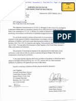 Subpoena to Clayton Holdings July 2013