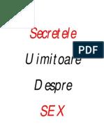 Bonus - Uimitoarele Secrete Despre SEX