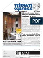 DOWNTOWN EXPRESS, JULY 17, 2009
