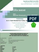 A. Case Report Luka Bakar