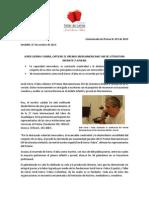 Comunicado de Prensa 011 - Jordi Sierra i Fabra Recibe El Premio Iberoamericano Sm de Literatura Infantil y Juvenil