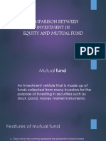Comparison Between Investment in Equity and Mutual Fund