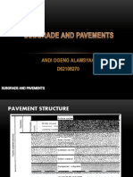 Subgrade and Pavements