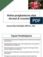 Sistim Penghantaran Obat Dermal Transdermal