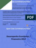 balanço financeiro do Corinthians 2012