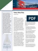 Turkey's Africa Policy