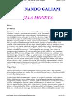 Ferdinando Galiani Della Moneta