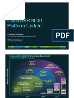 Cisco ASR9000 Platform Update