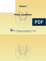 Policy condition