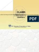 Claims of insurance agency