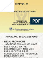 Rural and Social Sectors of insurance