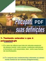 Psicopatologia e suas definições
