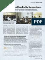 """Marco Nussbaum spricht auf dem  4. """"Heilbronn Hospitality Symposium"""""""