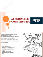 types of wall construction