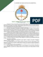 Las Partes y El Significado Del Escudo de Argentina