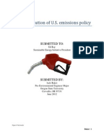 Portfolio- Password Protected- Recent Evolution of U.S. Transportation Emissions Policy