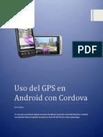 Uso del GPS en Android con Cordova (phonegap)