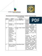 PROGRAMACIÓN DIPLOMADO EN TECNICAS Y BUENAS PRÁCTICAS PARA EL JUICIO ORAL