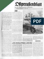 Das Ostpreußenblatt vom 27 August 1960