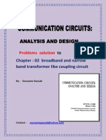 solution manual communication circuit analysis and design by KENNETH K. CLARKE DONALD T . HESS  1