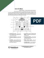2 Channel Stereo DJ Mixer SSM-50 User Manual