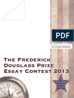 The Frederick Douglass Prize Essay Contest 2013 - Guidelines