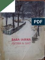 Baba Iarna Intra n Sat de Otilia Cazimir Ilustratii Ana Bitan