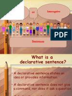 declarative and interrogative