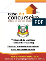 Apostila TJ Oficial Escrevente Dto Criminal Processual Joerberth
