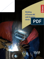Welding Domex Steels