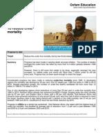 2013 mdg 4 progress report