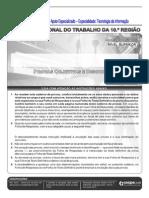 MUITP BOM Cespe 2013 Trt 10a Regiao Df e to Analista Judiciario Tecnologia Da Informacao Prova