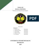 Makalah Penalaran Dan Pengembangan Paragraf b.indo