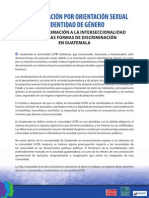 Guatemala Discriminacion Gays Lesbianas