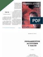 Pensamientos, Actitudes y Salud Por El Padre Ricardo Luis Gerula (Libros Inconseguibles)