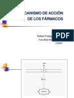 Mecanismo de Accin de Los Frmacos