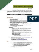 ArtiosCAD 12.1 System Requirements - 842360F89C704ABFBB7397685765969E