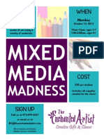 Mixed Media Madness at The Enchanted Artist