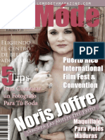 Le Móde TV Magazine - Noris Joffre