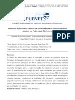 Produção de forragem e teores de proteína bruta do capim Paspalum  atratum cv. Pojuca sob diferimento