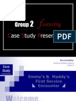 11276838 Emmys Maddys First Service Encounter Service Marketing
