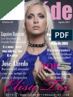 Edicion Agosto 2013 Elisa Tes