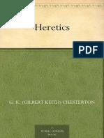 Heretics Chesterton